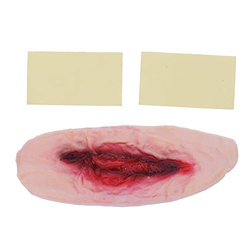 AILIUJUNBING Scary Vampire Bite Horrible Halloween Festival Masks Neck Bite Wound Horror Mask Party Halloween Costume Party Cosplay Supplies ()