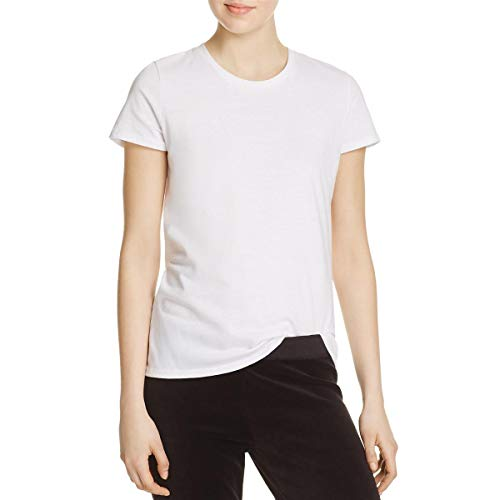 Juicy Couture Women's Knit JXJC Varsity Logo Graphic Tee White ()