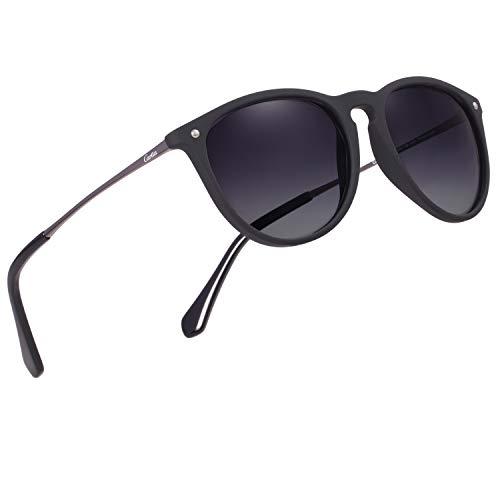 Carfia Vintage Polarized Sunglasses for Women Men,...