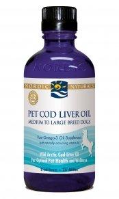 Nordic Naturals CLO Pet Plain, 8-Ounce Glass Bottle, My Pet Supplies
