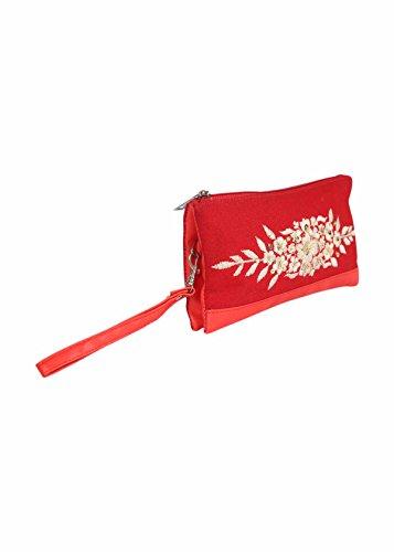 Pick Pocket , Borsa da spiaggia  Rosso rosso taglia unica