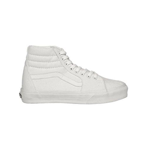 Vans Sk8-Hi Sneakers (True White) Men's High-Top Shoes, 10.0 M Men (Sk8 Vans Hi White)
