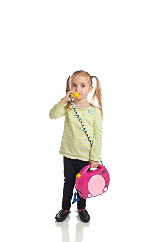 IQ Toys Portable Sing Along CD/USB/SD Player Anti Skip, with 2 Microphones & AC Adapter ( Pink) by IQ Toys (Image #2)