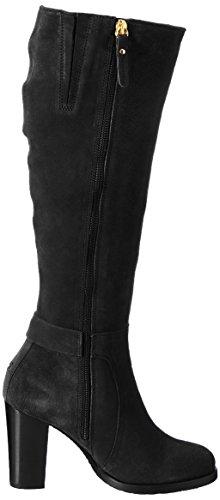 Boots 6b Hilfiger Tommy Women''s Black B1285arcelona qwUqF8I