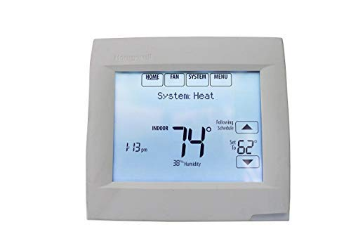 - Honeywell TH8321WF1001 Touchscreen Thermostat Wifi Vision Pro 8000 with Stages upto 3 Heat / 2 Cool