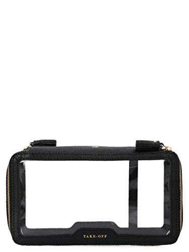 Anya Hindmarch Women's 921893001 Black Plastic Clutch