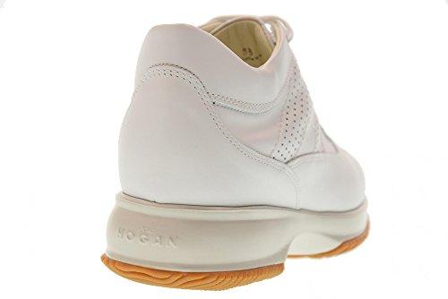 Les Femmes Hogan Baskets Basses Hxw00n00e30klab001 Blanc Interactif