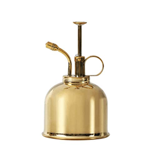 WKKGR Mini Brass Watering Can Small Watering Sprayer 330ml
