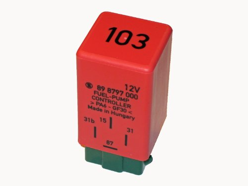 (Volvo s/v70 850 Fuel gas Feed Pump Relay (4 Prong) STRIBEL petrol bomb switch)
