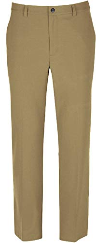 Greg Norman Men's Ml75 Microlux Pant, Bamboo, W: 33'' x L: 30'' by Greg Norman