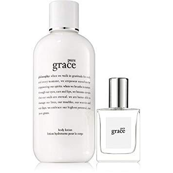 Philosophy Pure Grace Layering Set (Pure Grace Perfume .5 oz ~ Pure Grace Body Lotion 8 oz) - LIMITED EDITION