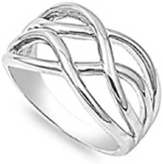 Wiccan Mystic Creativity Ring Sterling Silver 925