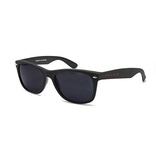 Villain Predator Black Sunglasses