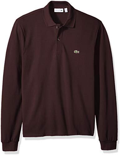 Lacoste Men's Classic Long Sleeve Pique Polo Shirt, Vertigo, 3 ()