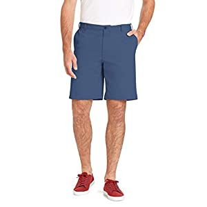 IZOD Men's Saltwater 9.5″ Flat Front Chino Short