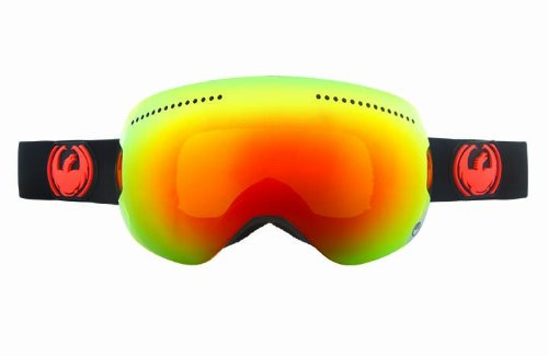 Dragon Alliance APX Snow Goggles, Jet, Green - Dragon Apx