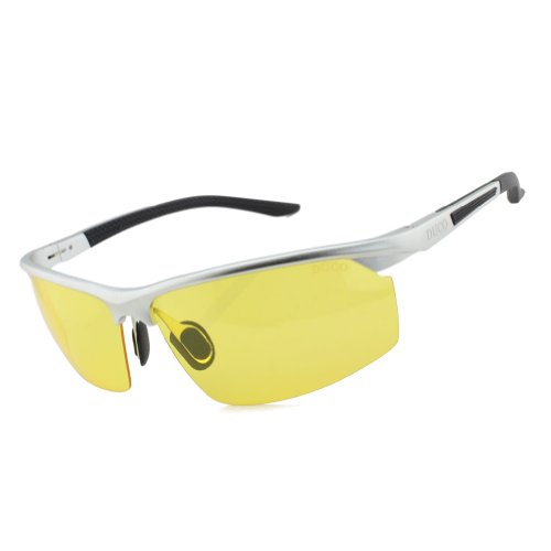 Duco Anti-glare Night-vision Glasses Polarized Driving Glasses Eyewear 8529