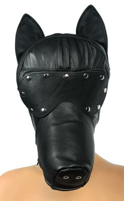 Strict Leather Ultimate Leather Dog Hood by Strict Leather