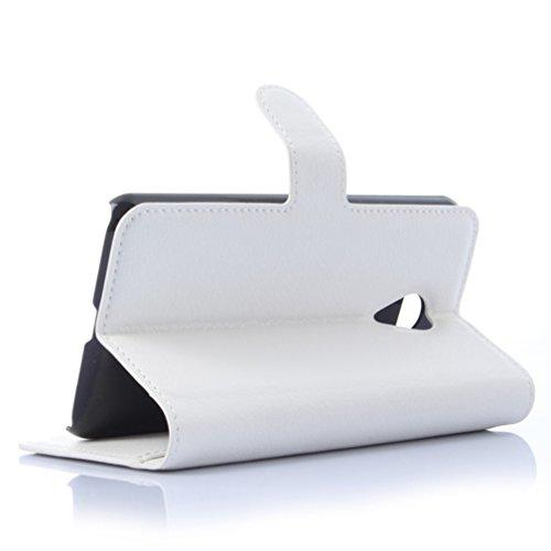 Funda MEIZU MX4 Pro,Manyip Caja del teléfono del cuero,Protector de Pantalla de Slim Case Estilo Billetera con Ranuras para Tarjetas, Soporte Plegable, Cierre Magnético G