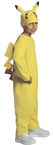 Rubie's Pokemon Child's Deluxe Pikachu Costume - One Color - Medium