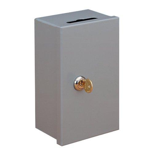 STEELMASTER 201980101 Drop-In Key Control Box, Keyed Alike, Gray