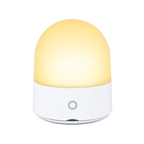 Touch Night Light Baby for Nursery Kids Led Bedside Dimmable Lamps Rechargerable Color Changing RGB Modes Dimmable Touch Control Table Lamp for Reading, Sleeping, and Relaxing. Warm White