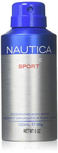 Nautica Deodorant Cologne - Nautica Voyage Sport - 5.07 Ounce Deodorizing Body Spray, 5.07 Ounce