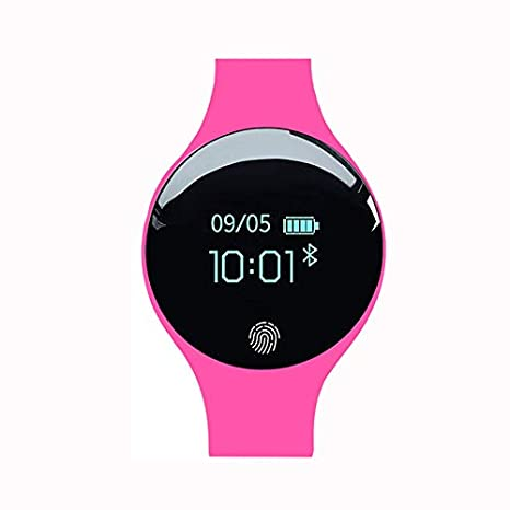 Amazon.com: Bluetooth Smart Watch iOS Android Women Sports ...