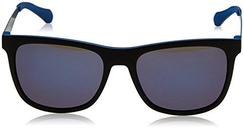 Boss Men's By Mm Sunglasses Matteblackblue 0874 Hugo s 57 Black Rectangular wffErA