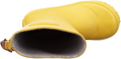 Bisgaard RAIN BOOT, Botas de Caucho, Niños Amarillo (80 Yellow)