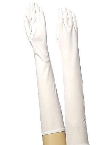 Forum Novelties Long Nylon Adult Gloves, White]()