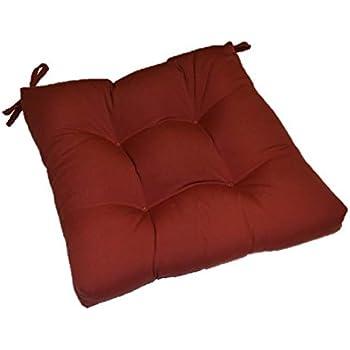 Amazon Com Tufted Chair Cushion 19 Quot X 18 Quot X 4