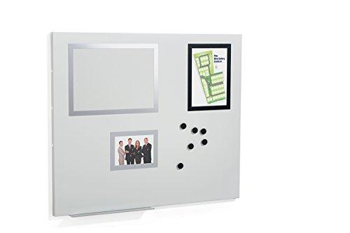 Durable 500210 Duraframe Magnetic Board M Magnettafel, grau
