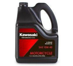 Kawasaki 4-Stroke Motorcycle Engine Oil 10W40 1 Gallon K61021-302 by Kawasaki