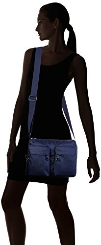 Women's Blue Shoulder Mandarina Duck Md20 Blue Dress Bag Tracolla URaRFx6q
