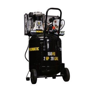 Central Pneumatic 2 HP, 29 Gallon, 150 PSI Cast Iron Air Compressor