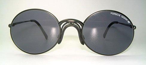 Carrera Porsche Design Vintage Round Black Unisex 5658 90 Unisex Designer Sunglasses