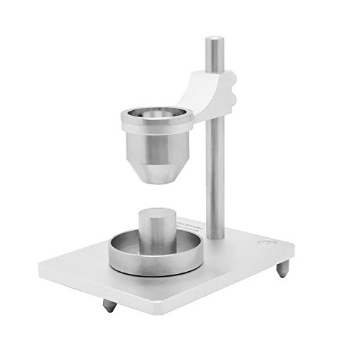BAOSHISHAN Bulk Density Tester for Non-Metallic/Metallic Powder Natural Accumulation Density Meter Fluidity Tester with One 5mm Stainless Steel Funnels