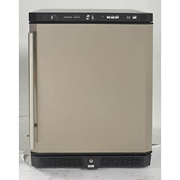 "Avanti AR5102SS All Refrigerator, 24""/5.1 cu. ft., Stainless Steel"