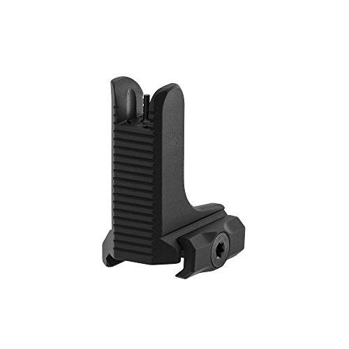 UTG AR15 Super Slim Fixed High Profile Front Sight Black Hunting Trophy Mounts