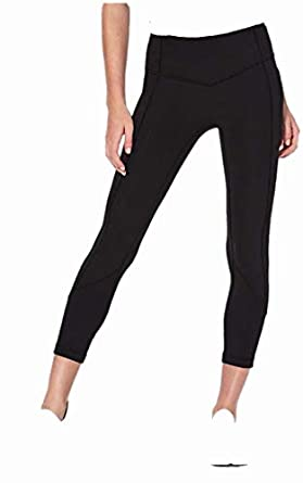 fa1494ccae Lululemon All The Right Places Crop II BLK Black (4) at Amazon ...