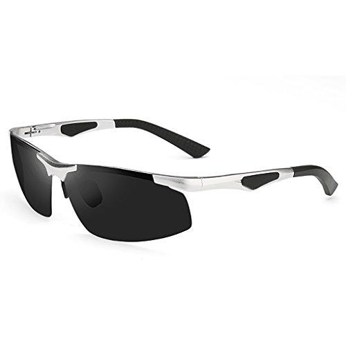 de sol sol Senderismo de de 3 Deportes vasos Gafas sol mareas aluminio 3 magnesio conductores conducción de gafas de polarizadas macho Gafas Pesca conducción 0w4qwTxp
