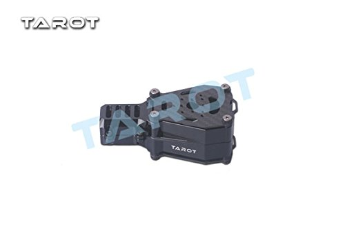 TAROT TL96032 25mm Black Metal Shock Absorption Double Motor Fixed Seat for RC DIY Drone Quadcopter by Tarot