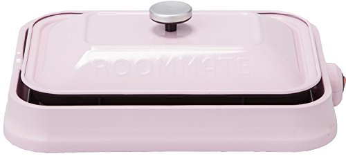 """ROOMMATE """"3 WAY HOT PLATE"""" EB-RM8600H-PK (PINK)【Japan Domestic genuine products】"""