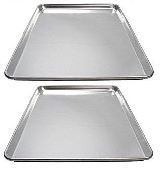 Winware 2-Piece Sheet Pan, 16 x 22-Inch, Aluminum