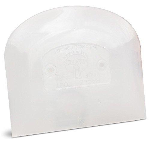 Bourgeat Spatula Plastic (Matfer Bowl Scraper 4.75 x 3.75 inch)