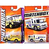 - Matchbox Hazard Squad Fire Truck Engine Hazmat Yellow Airport and White Dallas Fort Worth Texas Set of 2