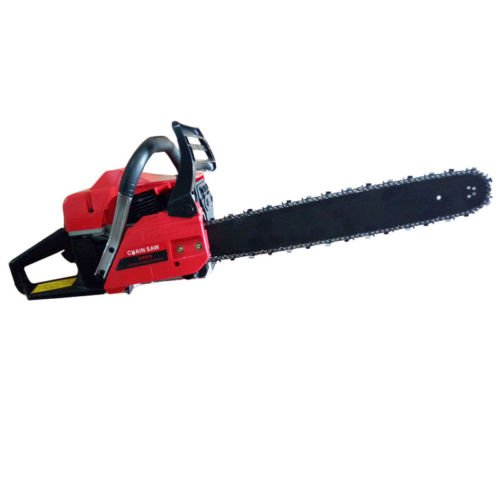 2018 CHAINSAW 58CC PETROL CHAINSAW INCLUDE 2x CHAINS COMPLETE TOOLS KIT by Maximumstore
