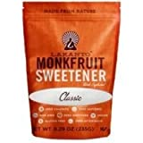 Lakanto Sugar Free Classic Monkfruit Sweetener, 8.29 Ounce - 8 per case.