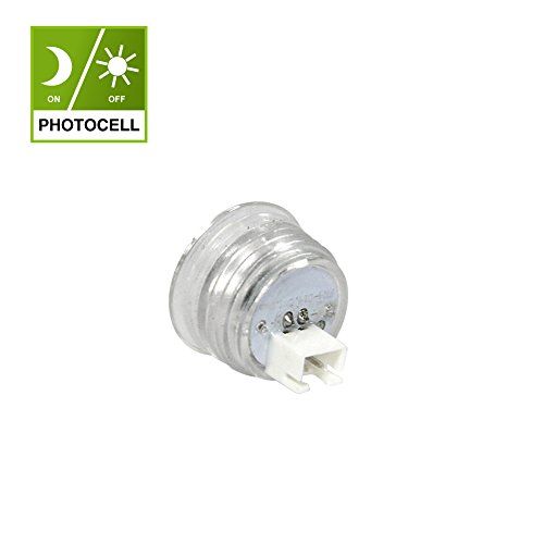 Dusk to Dawn Photocell Switch Light Sensor light controller Auto on off Photo Control (Compatible for Kadision Lights Only) (Lead Walkway)